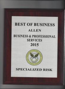 Best of Business Plaque